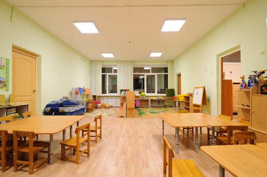 освещение в детском саду