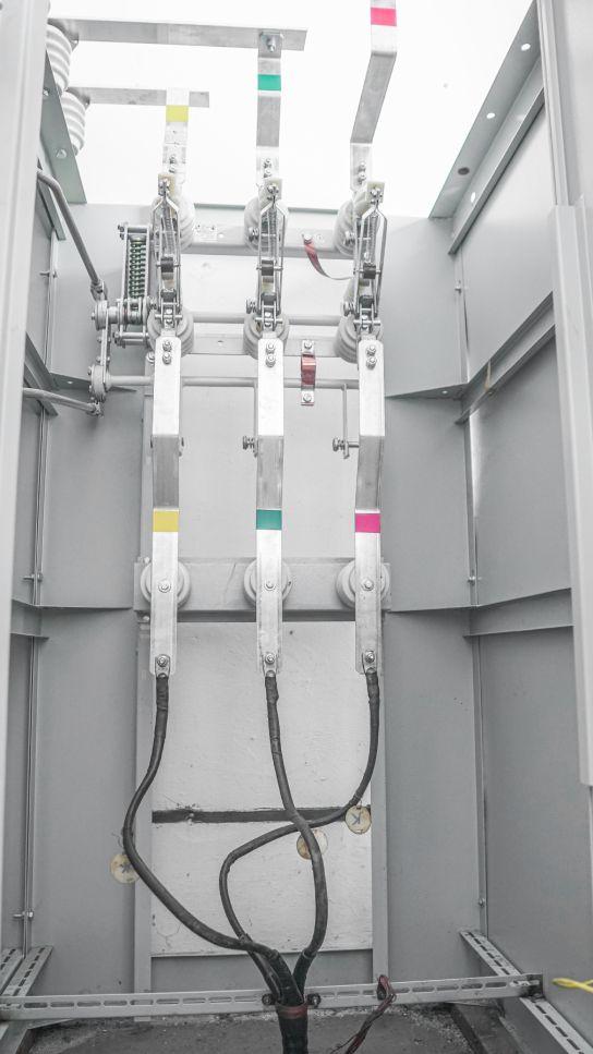 Высоковольтные ячейки насосной станции